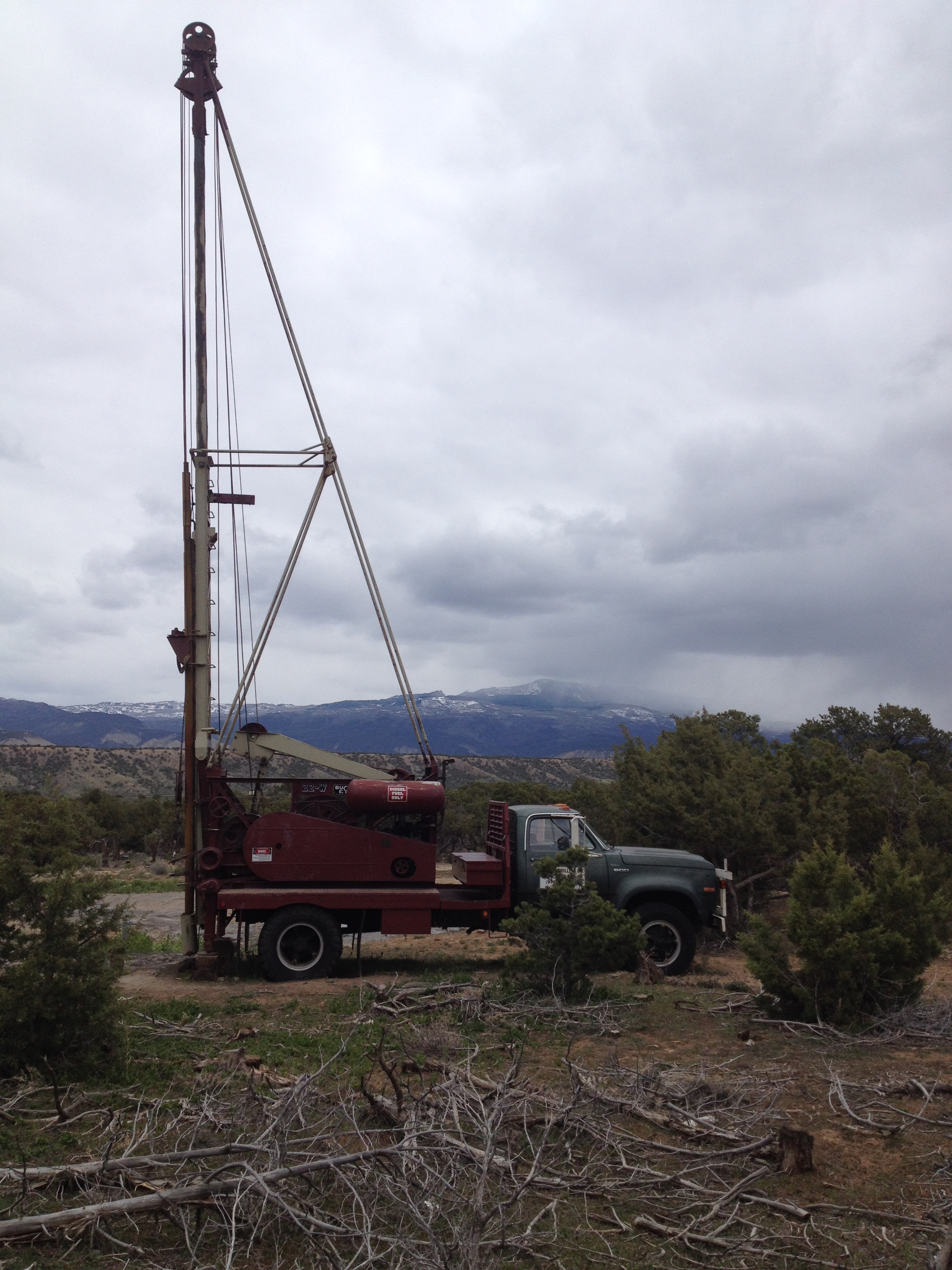 well drilling in western Colorado