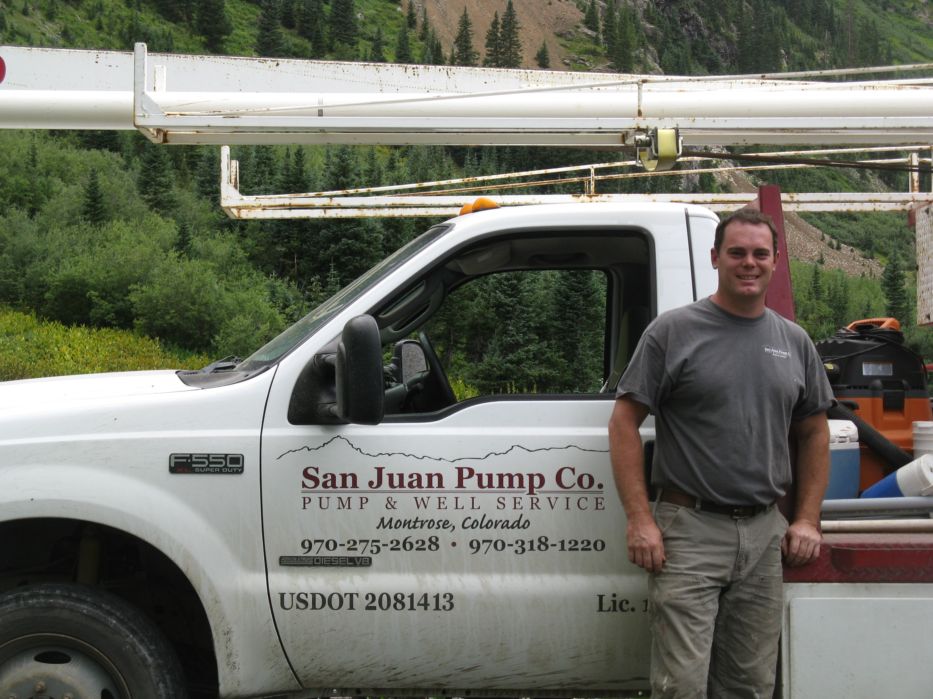 San Juan Pump team in Colorado