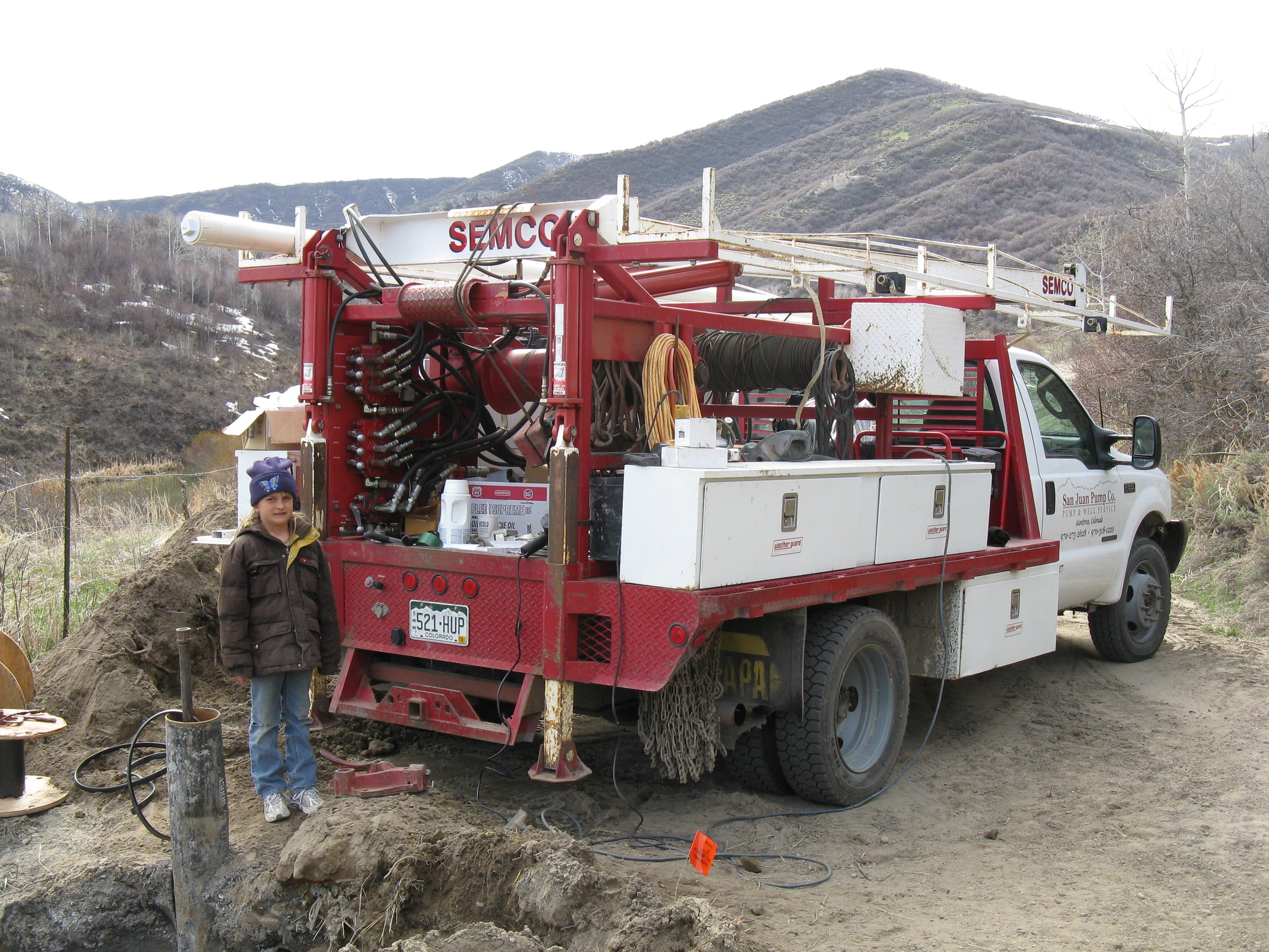 San Juan Pump truck