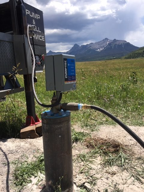 Temporary Pump Set-up in Ridgway CO
